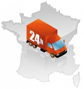 Livraison sous 24h dans toute la France